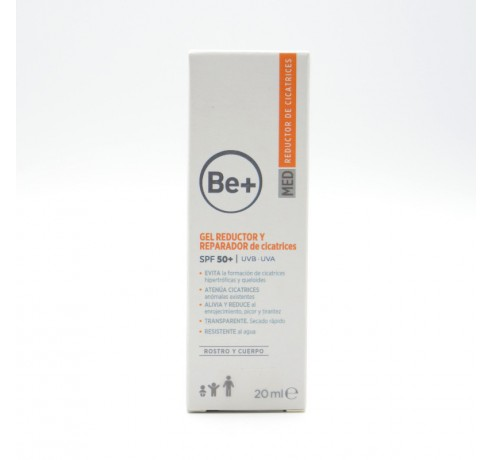 BE+ GEL REDUCTOR Y REPARADOR DE CICATRICES 20 ML Parafarmacia