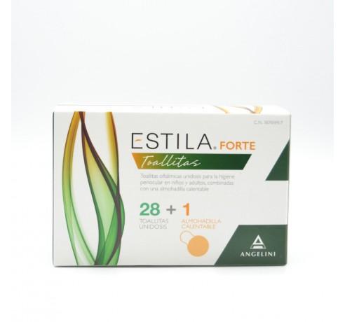 ESTILA FORTE TOALLITAS 28 TOALLITAS + ALMOHADILL Parafarmacia
