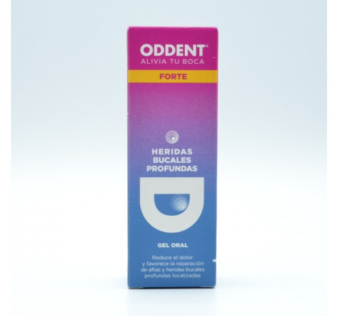 ODDENT GEL ORAL FORTE 8 ML Parafarmacia