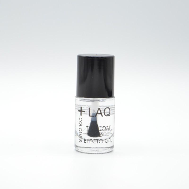 +LAQ COLOURS TOP COAT 3D EFECTO GEL 10 ML Parafarmacia