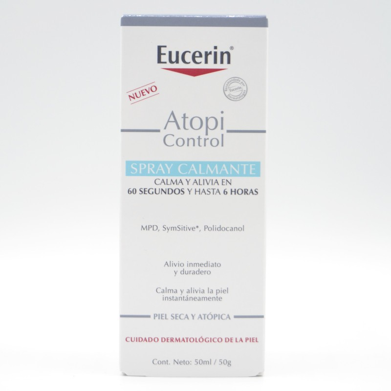 EUCERIN ATOPIC CONTROL SPRAY CALMANTE 50 ML Parafarmacia