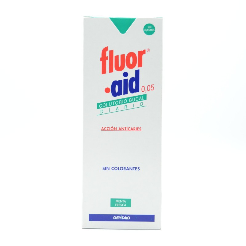 FLUOR-AID COLUTORIO DIARIO 500 ML Parafarmacia
