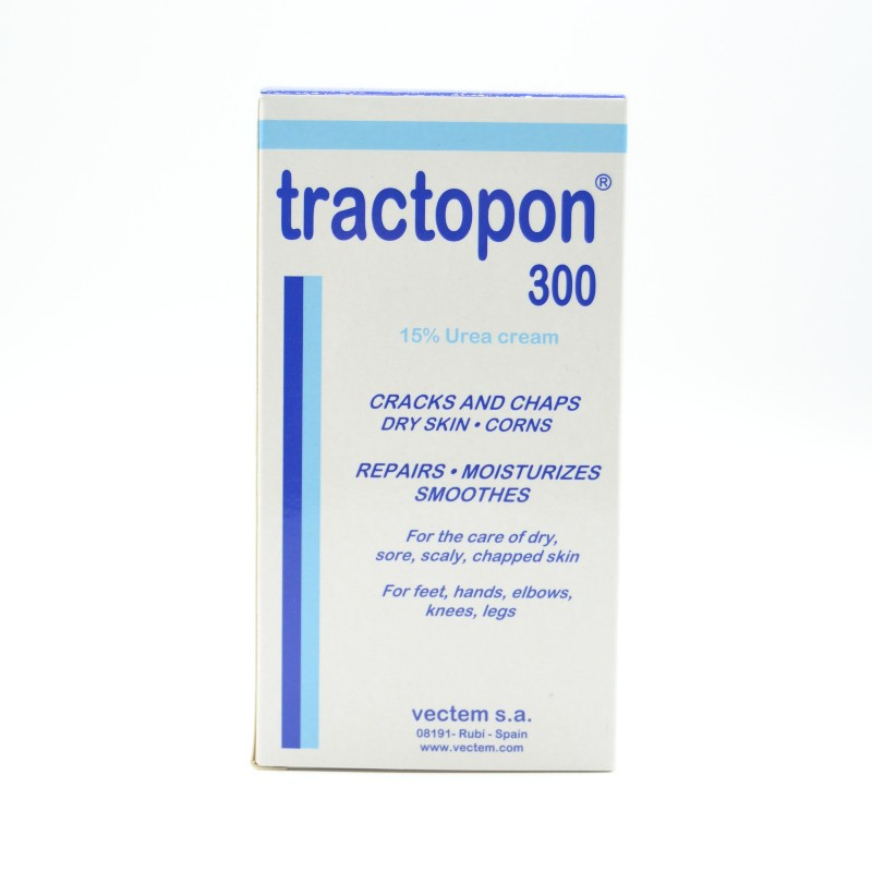TRACTOPON 15% UREA 300 ML. DISPENSADOR Parafarmacia