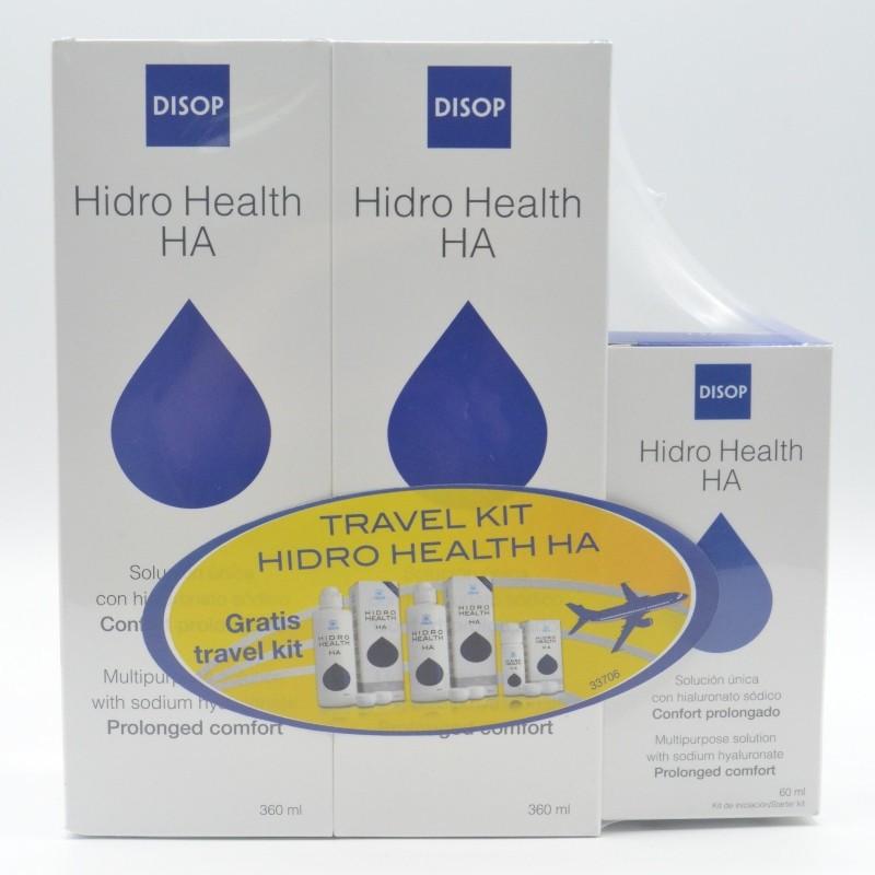 HIDRO HEALTH MALETA 2/360 LENTILLAS Parafarmacia