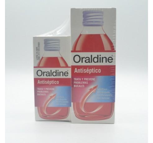 ORALDINE ANTISEPTICO PACK 400 ML +200 ML Parafarmacia