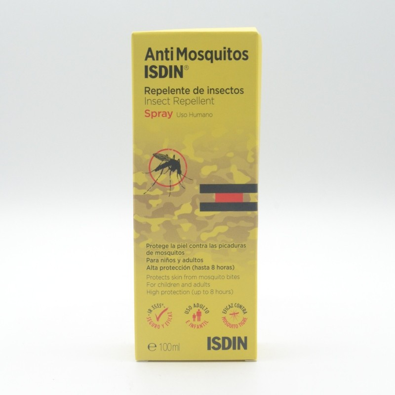 ISDIN ANTIMOSQUITOS SPRAY 100 ML Parafarmacia