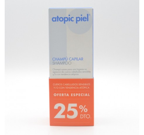 ATOPIC PIEL CHAMPU CAPILAR 200 ML Parafarmacia