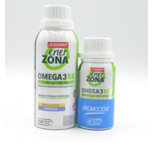 ENERZONA OMEGA 3RX 1 G 120 CAPSULAS+ 30 CAP Parafarmacia