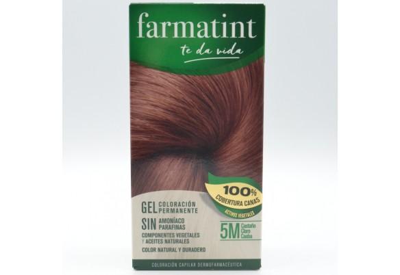 FARMATINT 5M CASTAÑO CLARO CAOBA 130 ML. Parafarmacia
