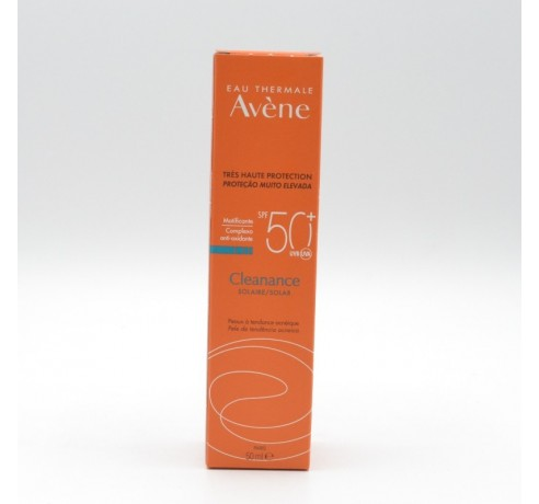 AVENE CLEANANCE SOLAR SPF 50+ MUY ALTA PROTEC 50 Parafarmacia