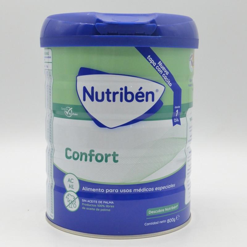 NUTRIBEN CONFORT LECHE 800 GR (AE/AC) Cuidado del bebé