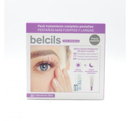 BELCILS PACK TRATAMIENTO COMPLETO PESTAÑAS(SERUM+CREMA REGEN)8470003404075 Parafarmacia