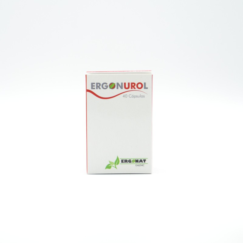 ERGONUROL (CYSTOSTOP) 40 CAPS ERGONAT Parafarmacia