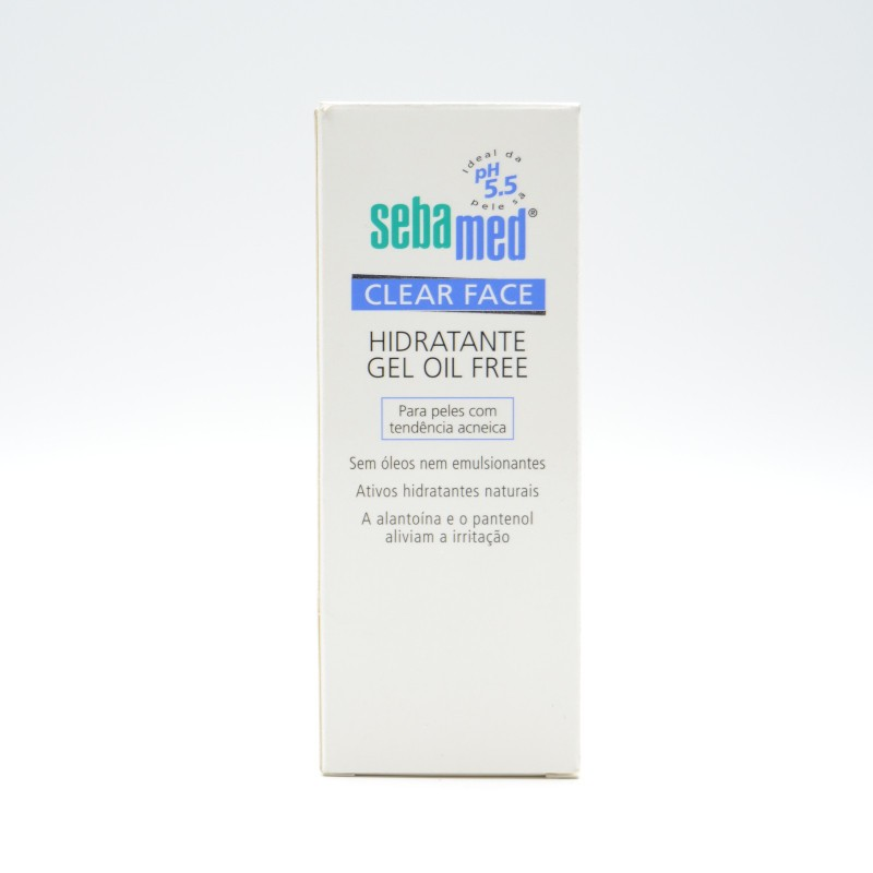 SEBAMED CLEAR FACE GEL HIDRATANTE 50 ML Parafarmacia