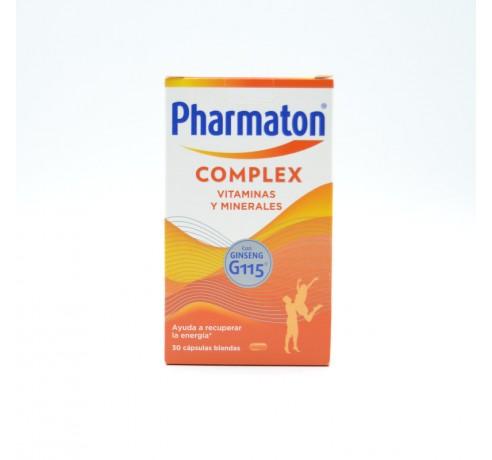 PHARMATON COMPLEX 30 CAPSULAS Parafarmacia