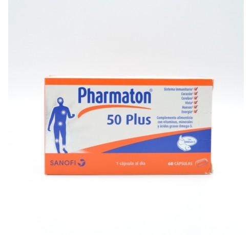 PHARMATON 50 PLUS 60 CAP Parafarmacia