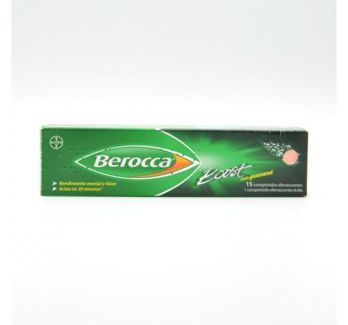 BEROCCA BOOST 15 COMPRIMIDOS EFERVESCENTES Parafarmacia