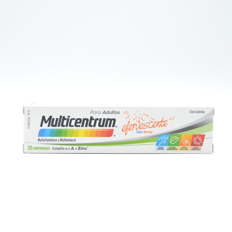 MULTICENTRUM EFERVESCENTE 20 COMP Parafarmacia