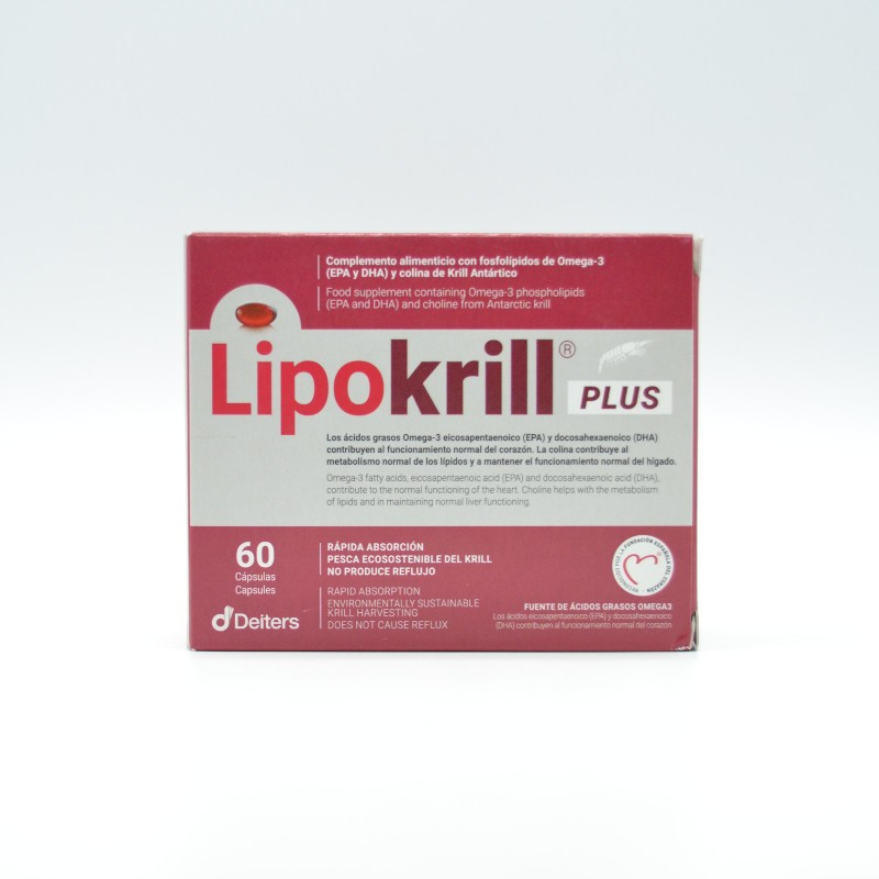 LIPOKRILL PLUS 60 CAPSULAS Parafarmacia