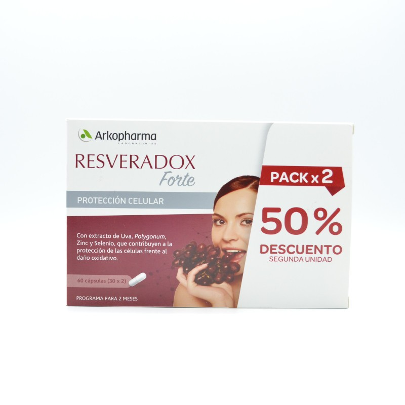 RESVERADOX FORTE 30 CAPS DUPLO Parafarmacia