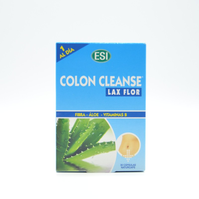 COLON CLEANSE LAX FLOR 30 CAPSULAS Parafarmacia