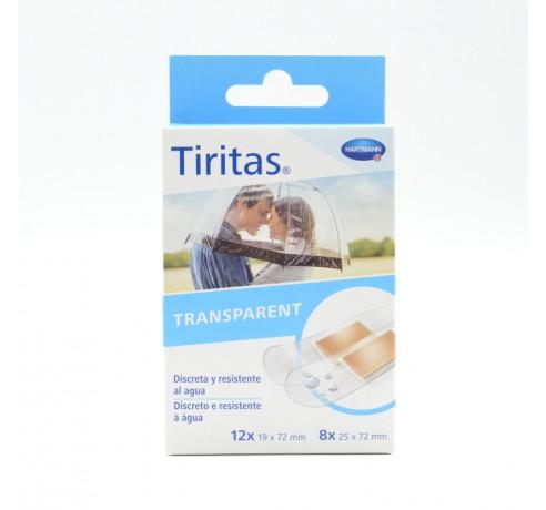 TIRITAS TRANSPARENT SURTIDO 2 TAMAÑOS 20 U HARTM Parafarmacia