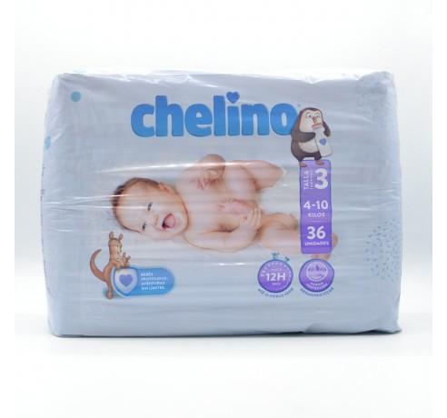 PAÑAL CHELINO T/3 (4-10 KG )36 U Parafarmacia