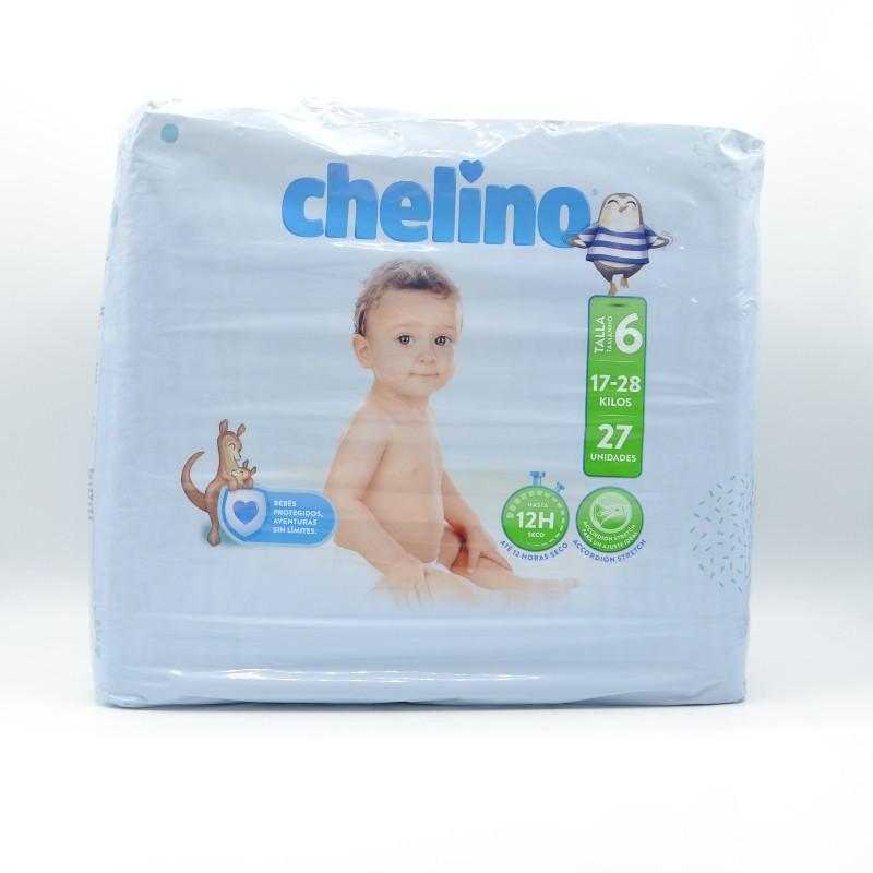 PAÑAL CHELINO T/6 (17-28KG) 27U Parafarmacia