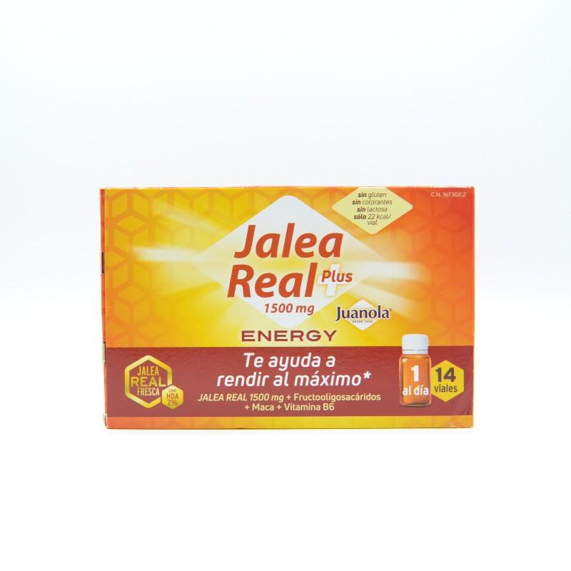 JUANOLA JALEA REAL PLUS 1500 MG ENERGY 14 VIALE Parafarmacia
