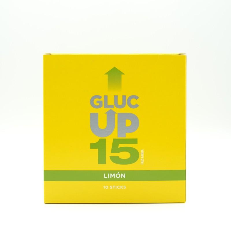 GLUC UP LIMON 10 STICKS, 15 GR Parafarmacia