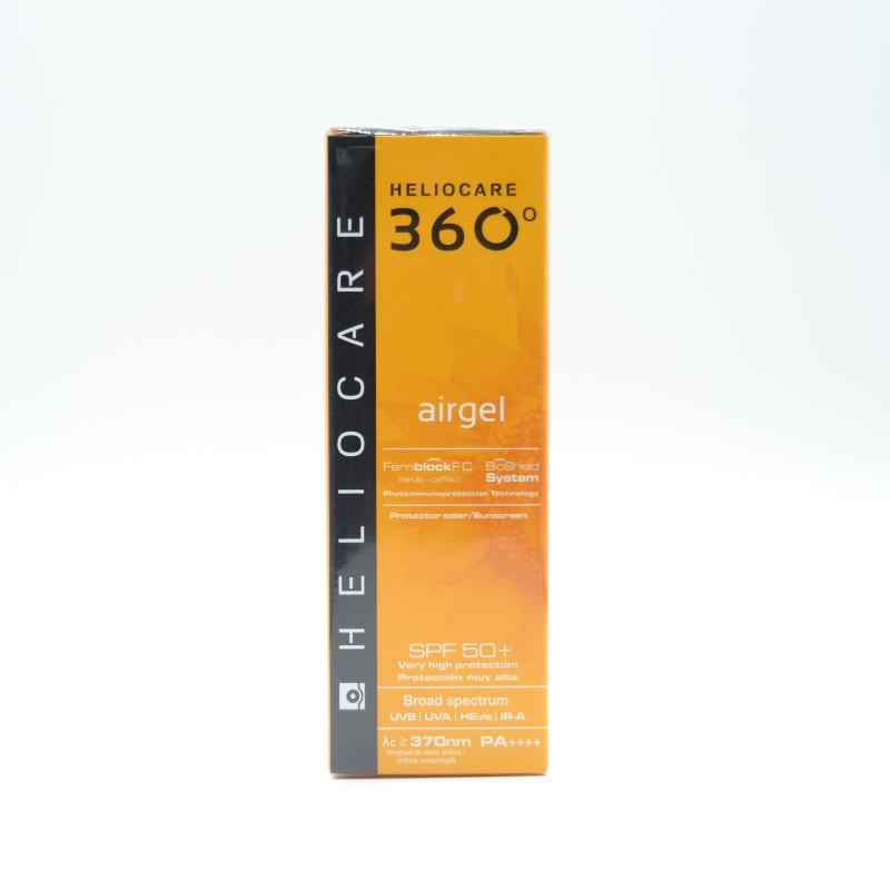HELIOCARE 360º AIRGEL SPF50 FACIAL 60 ML Parafarmacia
