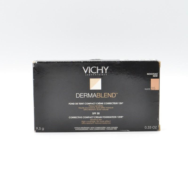 VICHY DERMABLEND COMPACTO CREMA 25 Parafarmacia