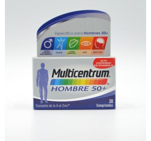 MULTICENTRUM HOMBRE SELEC 50+ 30 COMP Parafarmacia