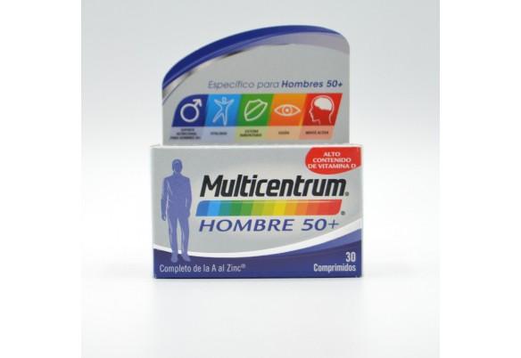 MULTICENTRUM HOMBRE 50+ 30 COMP Parafarmacia