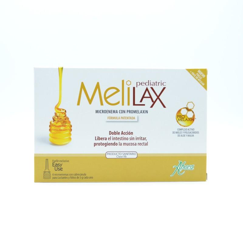 MELILAX PEDIATRIC MICROENEMAS 5 G 6 U Parafarmacia