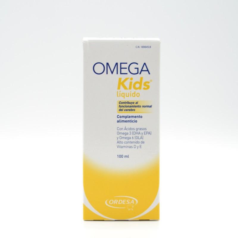 OMEGA KIDS LIQUIDO 100 ML Parafarmacia