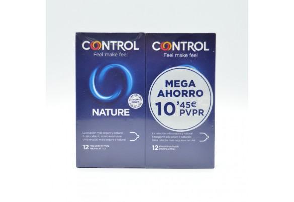 PRESERVATIVOS CONTROL NATURE 12+12 UDS Parafarmacia