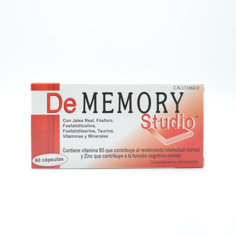 DE MEMORY STUDIO 60 CAPSULAS Parafarmacia