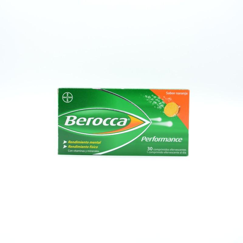 BEROCCA PERFORMANCE NARANJA 30 COMPRIMIDOS EFERVESCENTES Parafarmacia