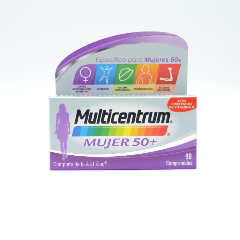 MULTICENTRUM MUJER 50+ 90 COMP Parafarmacia