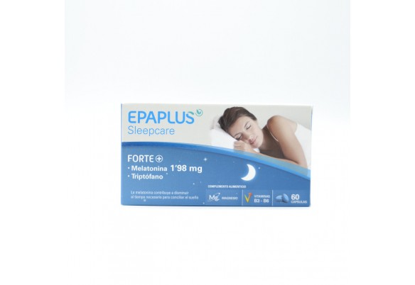 EPAPLUS MELATONINA FORTE+TRIPTOFANO 1.98MG 60 CA Parafarmacia