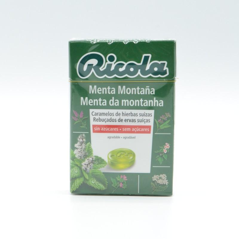 RICOLA CARAMELOS MENTA MONTAÑA 50 G S/A Parafarmacia