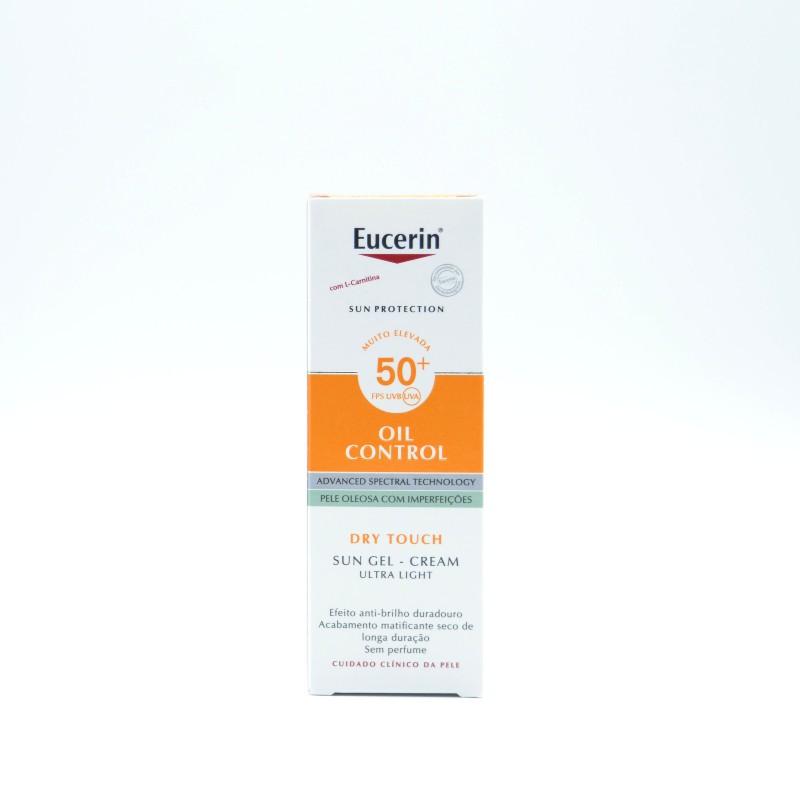 EUCERIN SOLAR ROSTRO OIL CONTROL 50+ 50 ML Parafarmacia