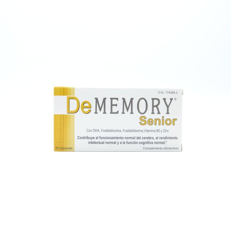 DE MEMORY SENIOR 30 CAP Parafarmacia
