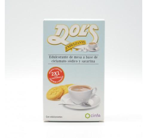 DOLS ENDULZANTE DUPLO 500+500 COMP Parafarmacia