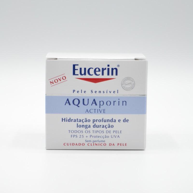 EUCERIN AQUA PORIN HIDRATANTE LIGERA SPF25+ 50 M Parafarmacia