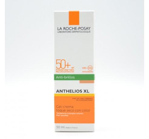 ANTHELIOS ROSTRO GEL-CREMA COLOR ANTIBRILLO 50+ 50 ML Parafarmacia