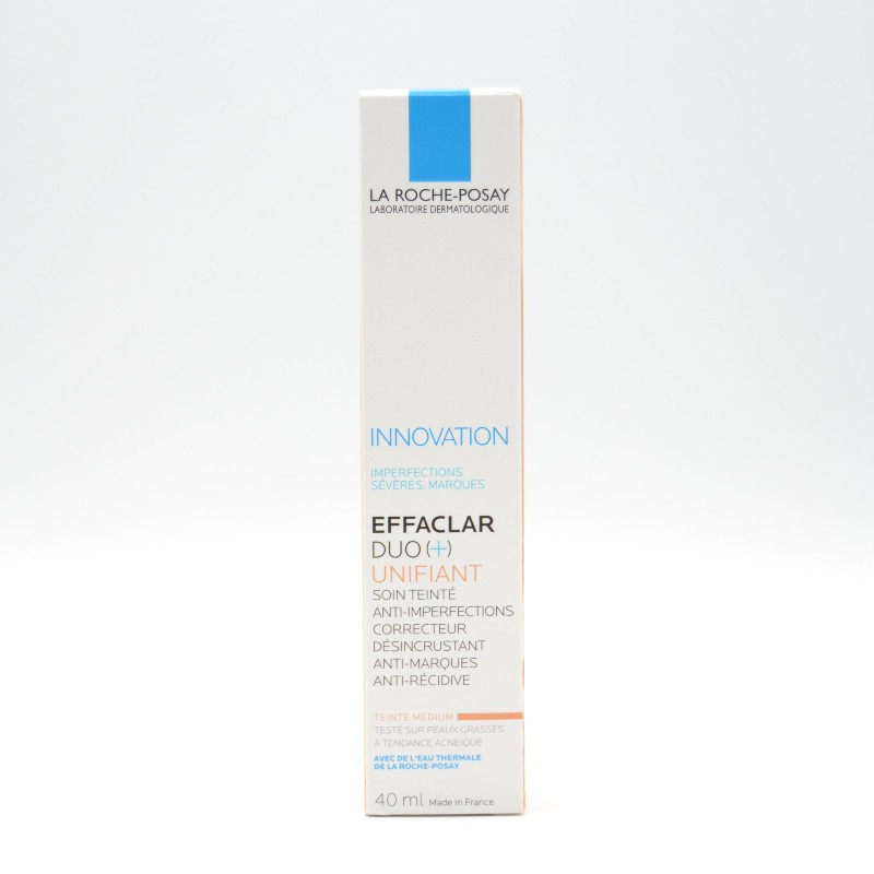 EFFACLAR DUO (+) UNIFIANT TONO INTERMEDIO 40 ML Parafarmacia