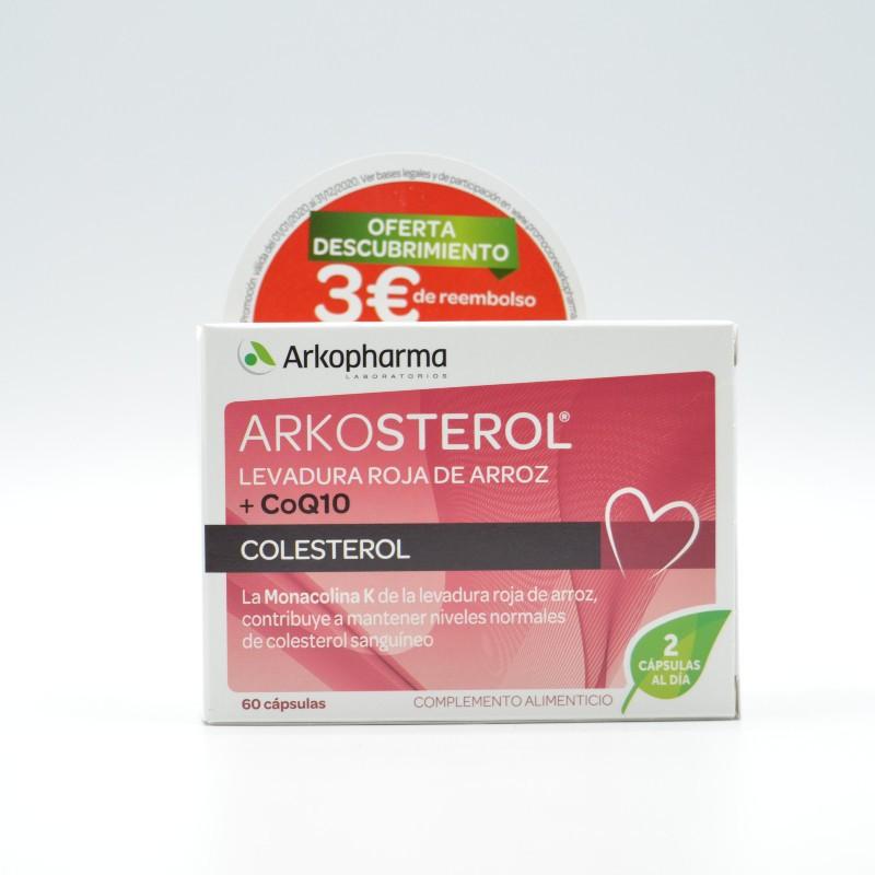 ARKOSTEROL Q10 60 CAPSULAS Parafarmacia
