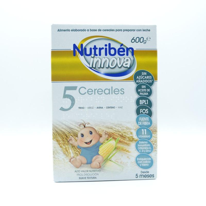 NUTRIBEN INNOVA 5 CEREALES 600 G Parafarmacia